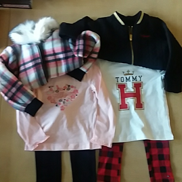 5ff4b809 Tommy Hilfiger Matching Sets | Girls 3 Piece Sets With Jackets 4t ...